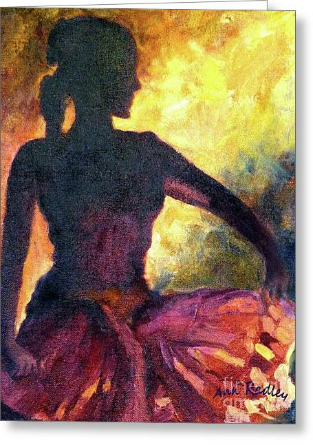 Ann Radley Greeting Cards - Dance of Parvati Greeting Card by Ann Radley