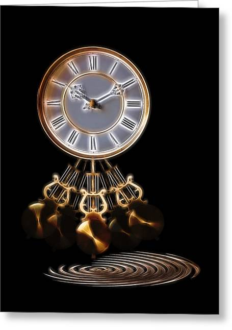 Interior Still Life Photographs Greeting Cards - Dance Time Greeting Card by Gill Billington