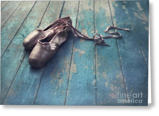 Dancer Photographs Greeting Cards - Danced Greeting Card by Priska Wettstein