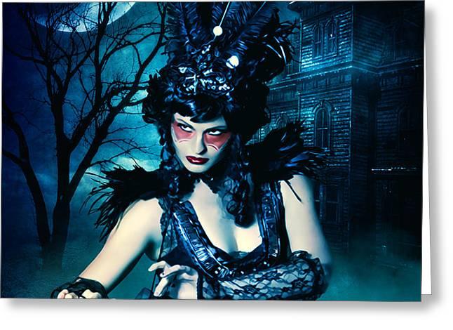 Dark Girl Greeting Cards - Dancer in the Dark Greeting Card by Bojan Jevtic