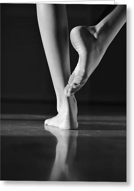 Dancer Photographs Greeting Cards - Dancer Greeting Card by Laura  Fasulo
