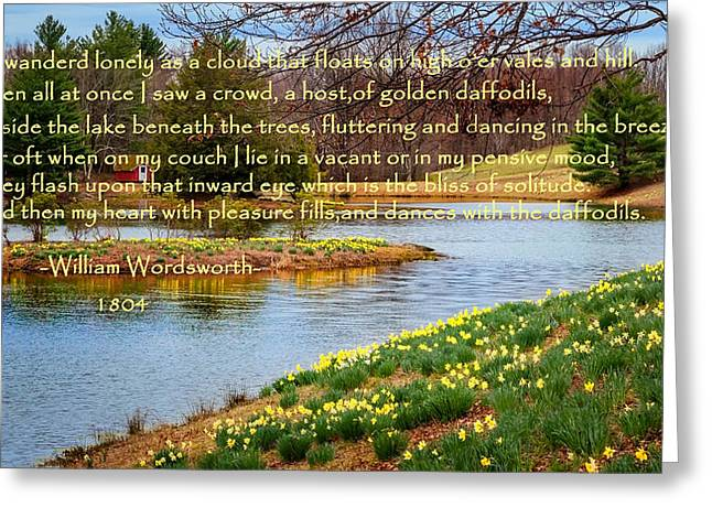 Bill Wakeley Photography Greeting Cards - Dances with the daffodils Greeting Card by Bill  Wakeley