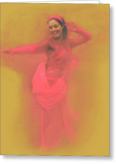 Freemont Greeting Cards - Dancing for Joy Greeting Card by Jeff Burgess