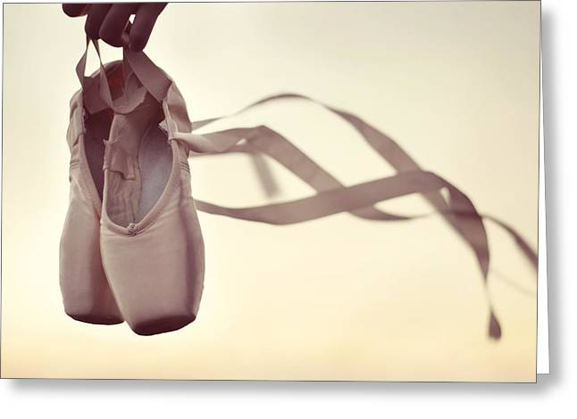 En Pointe Greeting Cards - Dancing On The Wind Greeting Card by Laura  Fasulo
