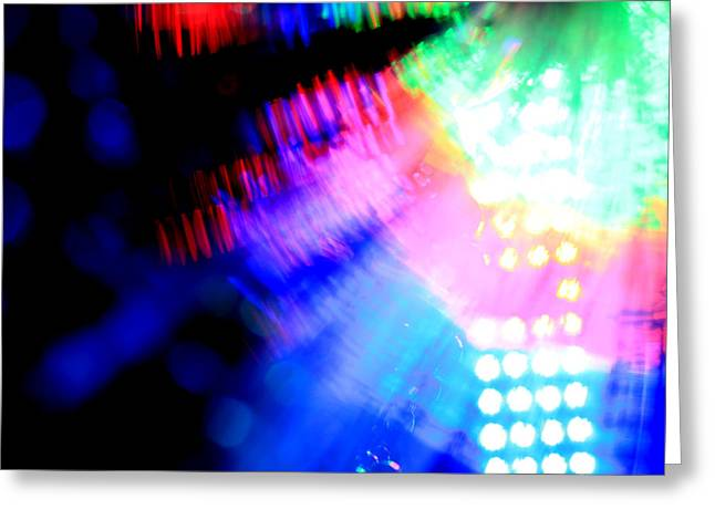 Stage Lights Greeting Cards - Dancing Queen Greeting Card by Dazzle Zazz