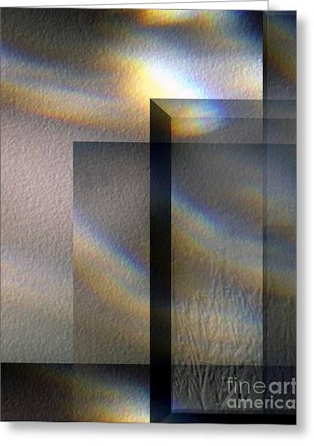 Dancing Sunlight Greeting Card by Gerlinde Keating - Galleria GK Keating Associates Inc
