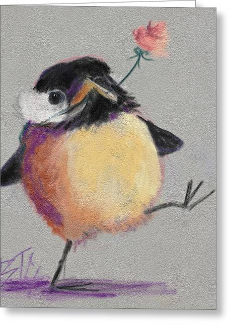 Independence Pastels Greeting Cards - Dancing with Joy Greeting Card by Billie Colson