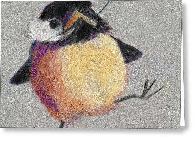 Dancing With Joy Greeting Card by Billie Colson