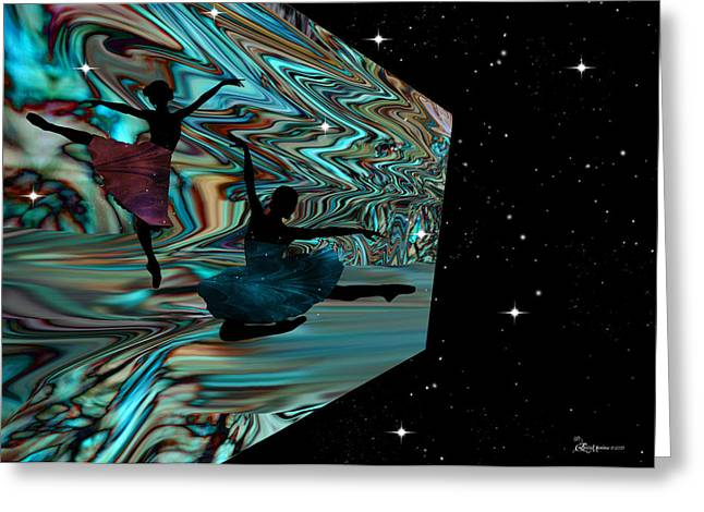 Dancing With The Stars-featured In Harmony And Happiness Group Greeting Card by EricaMaxine  Price