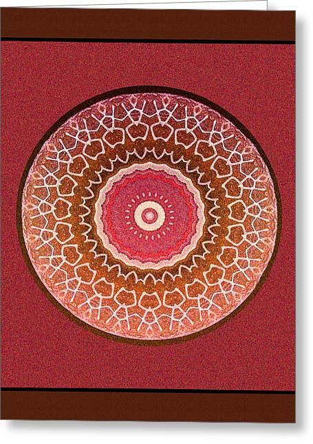Interior Still Life Digital Greeting Cards - Dancing Women Mandala  Greeting Card by Kandy Hurley