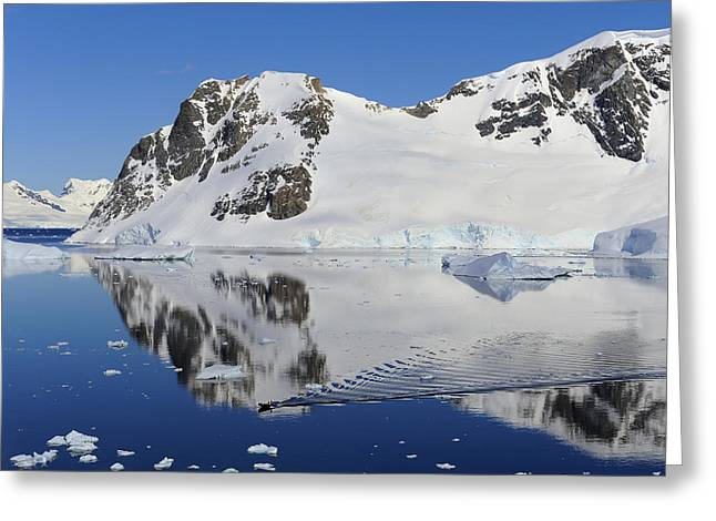 Water Vessels Photographs Greeting Cards - Danco Island Greeting Card by Tony Beck