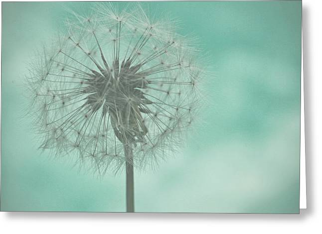 Couronne Greeting Cards - Dandelion Dreams Greeting Card by Nomad Art And  Design