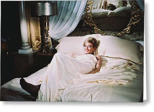 With Love Photographs Greeting Cards - Daniela Bianchi in From Russia with Love  Greeting Card by Silver Screen