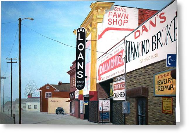 Photorealism Greeting Cards - Dans Greeting Card by Stacy C Bottoms