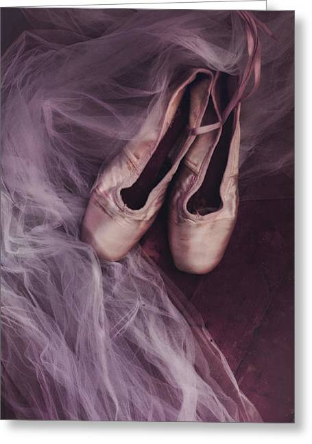 Dance Greeting Cards - Danse Classique Greeting Card by Priska Wettstein