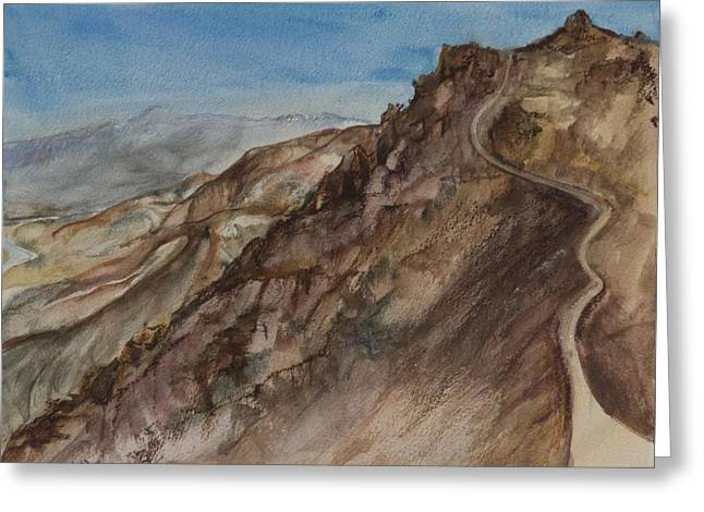 Lynne Bolwell Greeting Cards - Dantes View Greeting Card by Lynne Bolwell
