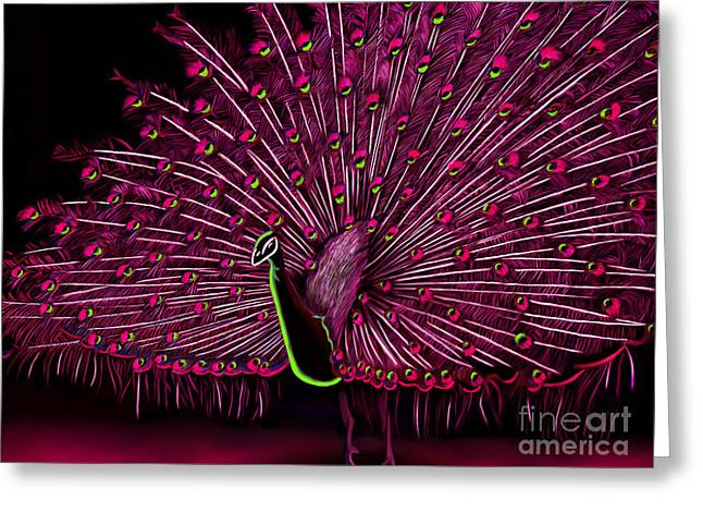 Durst Greeting Cards - Dare To Be Different Series  Greeting Card by Karen Sheltrown