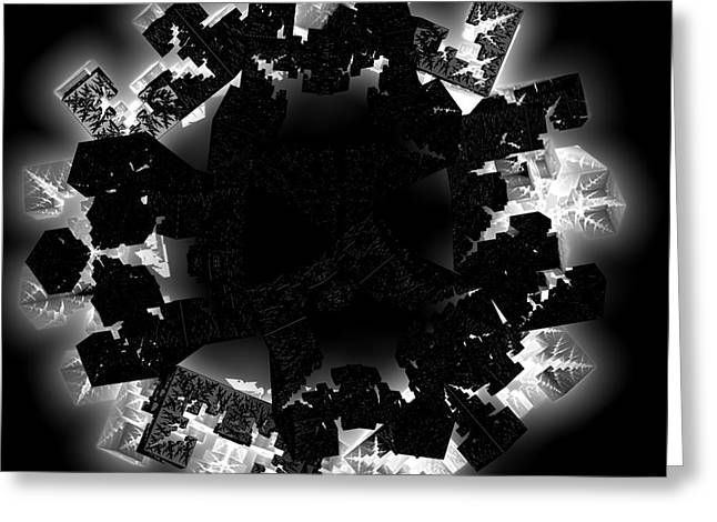 Dark Arts By Jammer Greeting Card by First Star Art
