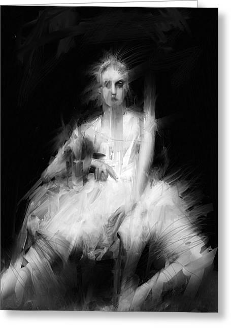 Dark Dancer Greeting Card by H James Hoff