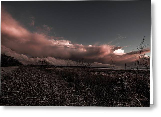 Surreal Landscape Greeting Cards - Dark Days Greeting Card by Sean Ramsey