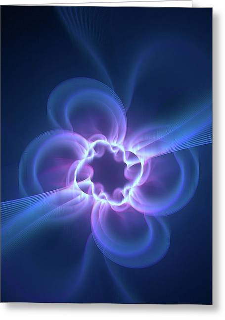 Dark Energy Illustration Greeting Card by David Parker