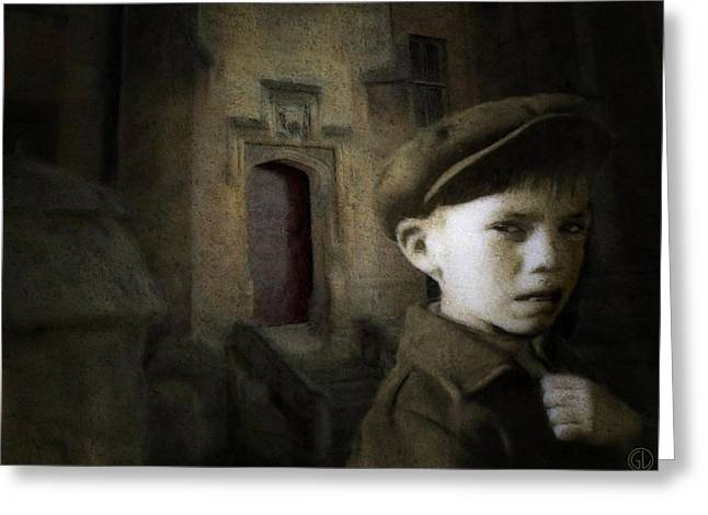 Lost Boy Greeting Cards - Dark memories Greeting Card by Gun Legler