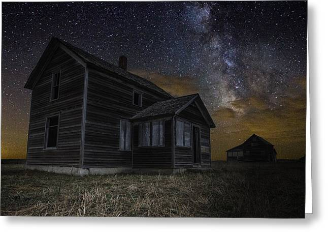 Forgotten Digital Greeting Cards - Dark Place Greeting Card by Aaron J Groen