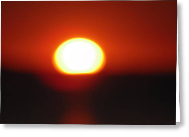 Sunset Greeting Cards Greeting Cards - Dark Sunset Greeting Card by Dotti Hannum