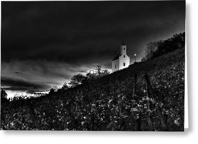 Evil Place Greeting Cards - Darkness Greeting Card by Ivan Slosar