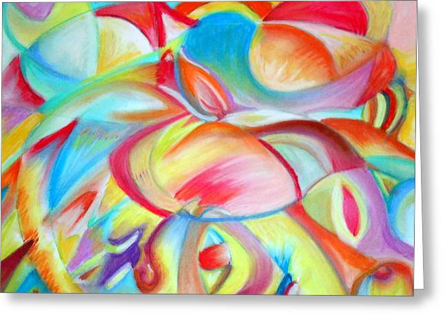 Calla Lily Pastels Greeting Cards - Darlenes Calla Lilies Greeting Card by Elizabeth Cassidy