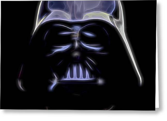 Tricks Greeting Cards - Darth Vader Greeting Card by Dan Sproul