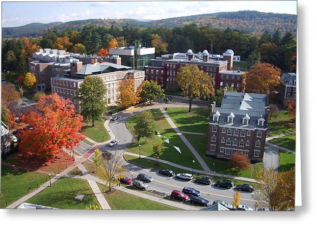 Hanover College Greeting Cards - Dartmouth college campus Greeting Card by Nomad Art And  Design