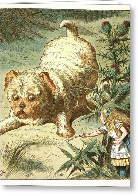 Dash The Puppy Greeting Card by British Library