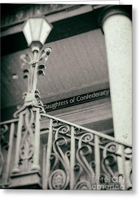 Confederacy Digital Art Greeting Cards - Daughters of the Confederacy Greeting Card by Jerry Fornarotto