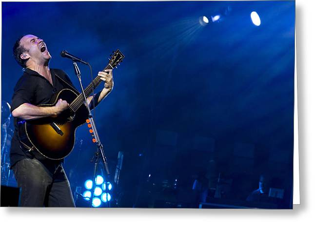 Dmb Greeting Cards - Dave Matthews at Alpine Valley Greeting Card by Shawn Everhart