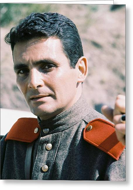 Adventure Of The Seas Greeting Cards - David Hedison in Voyage to the Bottom of the Sea  Greeting Card by Silver Screen