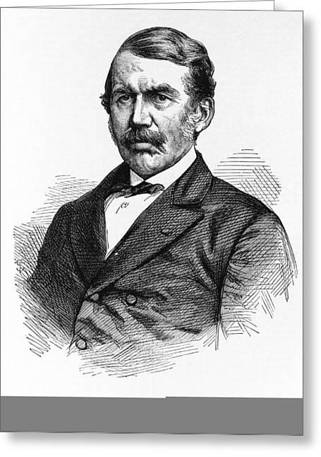 David Livingstone, Scottish Explorer Greeting Card by Science Photo Library