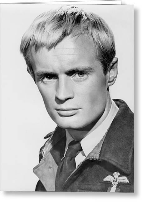 David Greeting Cards - David McCallum Greeting Card by Silver Screen