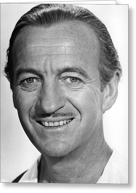 Casinos Greeting Cards - David Niven in Casino Royale  Greeting Card by Silver Screen
