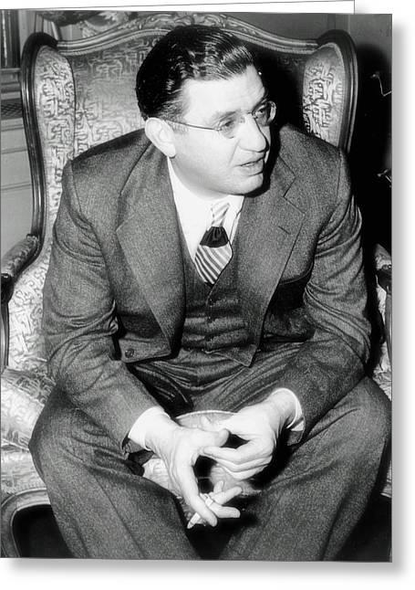 Long Ago Greeting Cards - David O Selznick 1941 Greeting Card by Mountain Dreams