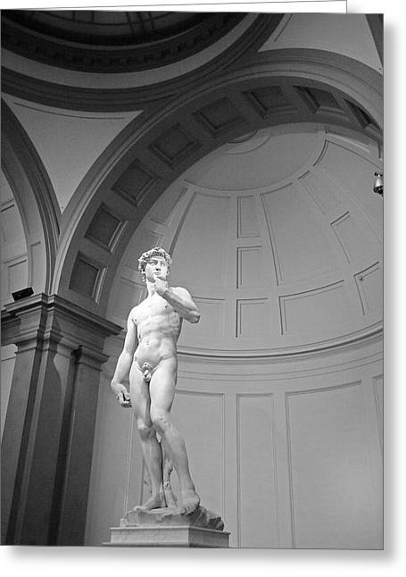 Michelangelo Greeting Cards - David  Greeting Card by Robert Klemm