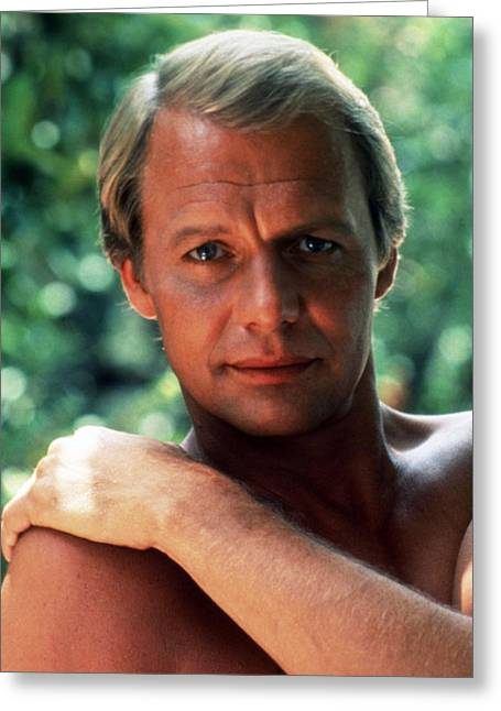David Photographs Greeting Cards - David Soul Greeting Card by Silver Screen