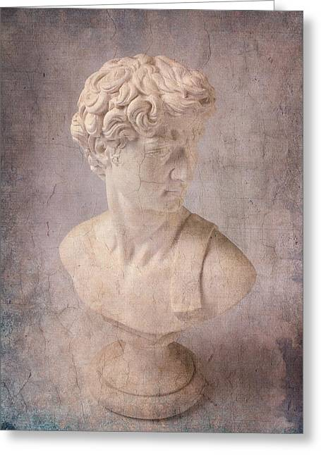 Michelangelo Photographs Greeting Cards - David Statue Greeting Card by Garry Gay