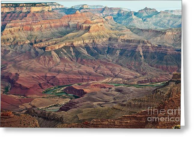 Colorful Cloud Formations Greeting Cards - Dawn at Lipan Point Greeting Card by Jim Chamberlain