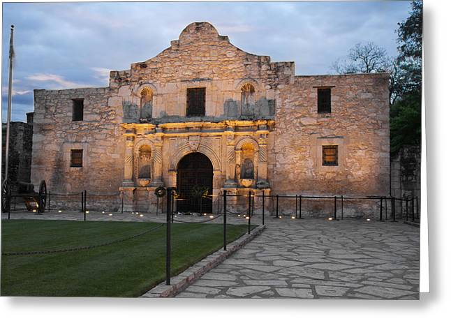 Dawn At The Alamo Greeting Card by Jemmy Archer