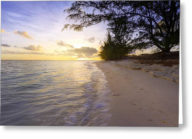 Ocean Shore Greeting Cards - Dawn of a New Day Greeting Card by Chad Dutson