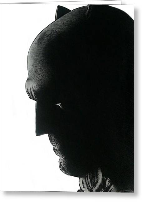 Frank Miller Greeting Cards - Dawn of Justice Batman Greeting Card by Robert Ceron