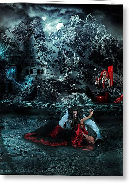 Slaves Greeting Cards - Dawn of the night Greeting Card by Becca Buecher