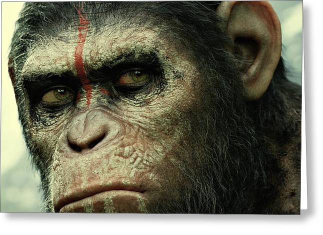 Planet Of The Apes Greeting Cards - Dawn of the Planet of the Apes  Greeting Card by Movie Poster Prints