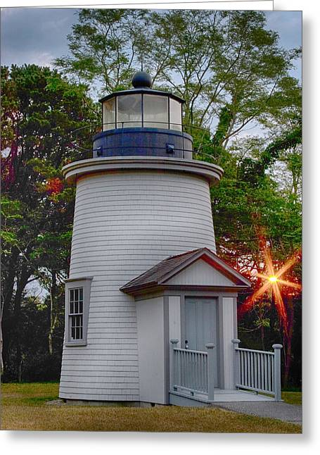 Greeting Cards Greeting Cards - Dawn over the Sister Greeting Card by Jeff Folger